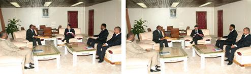 Le Premier Ministre Mauritanien reçoit en audience le Secrétaire Général de la CONFEJES