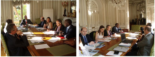 Comité de suivi du Forum des élus francophones du sport international et africain