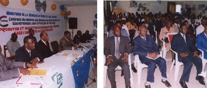 """Cérémonie de remise de chèques """"FIJ"""" à 17 jeunes Ivoiriens"""