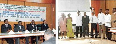 Le Premier Ministre du Togo reçoit en audience le Secrétaire Général de la CONFEJES
