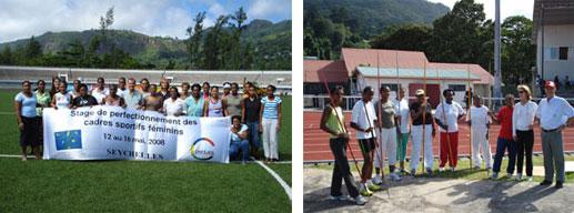 Stage de perfectionnement des cadres sportifs féminins des pays de l'Océan Indien