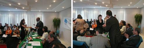 """Cérémonie de remise de crédits """"FIJ"""" à de jeunes marocains"""