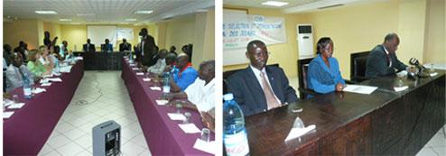 Réunion du Comité de sélection et d'orientation du FIJ 2008