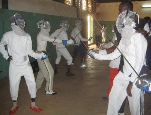 Stage du Club CONFEJES Escrime à Bamako (Mali)