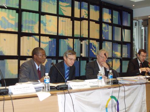 Réunion de présentation du rapport de synthèse sur l'avenir des Jeux de la Francophonie à l'OIF