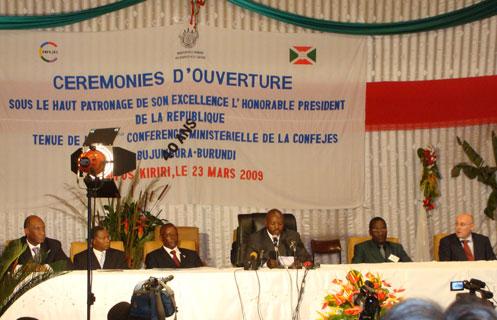 32ème Conférence Ministérielle de la CONFEJES (Bujumbura, Burundi – 23 et 24 mars 2009)