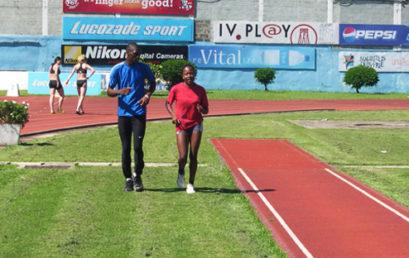 Stage du Club CONFEJES athlétisme à Maurice