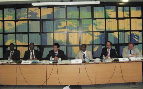 Réunion du Comité ad hoc du Conseil d'orientation des Jeux de la Francophonie (Paris, 3 juin 2009)