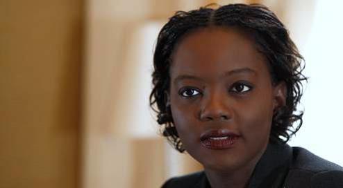 Mme Rama Yade, Secrétaire d'Etat aux sports de France reçoit en audience le Secrétaire Général de la CONFEJES