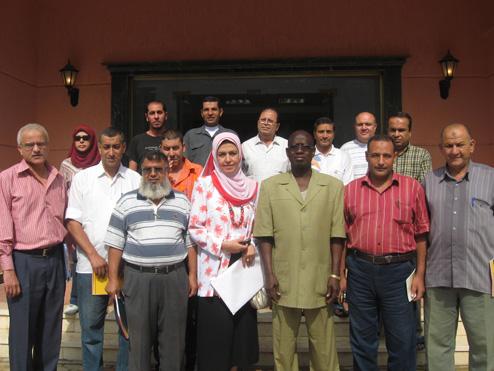 Stage de de Formation des encadreurs régionaux du  FIJ et de jeunes promoteurs  en entrepreneuriat à Alexandrie (Egypte)