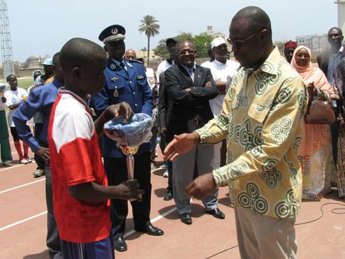 Fête des Ecoles de Sports de l'INSEPS de Dakar (Sénégal)