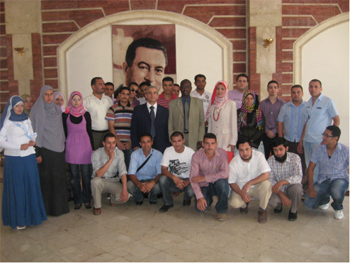 Deuxième stage de de formation en entrepreneuriat de jeunes égyptiens au Caire (Egypte)