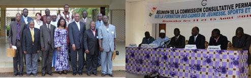 Réunion de la Commission consultative permanente sur la formation des cadres