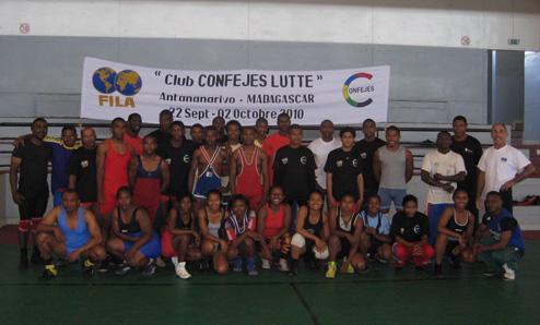Club CONFEJES-FILA Lutte à Madagascar