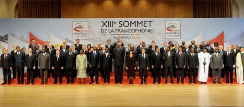 Ouverture officielle du 13ème Sommet de la Francophonie