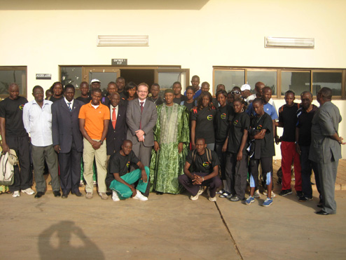 Stage du Club CONFEJES Athlétisme à Bamako (Mali)