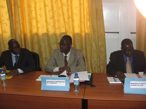 Participation au Conseil d'Administration du CRAL