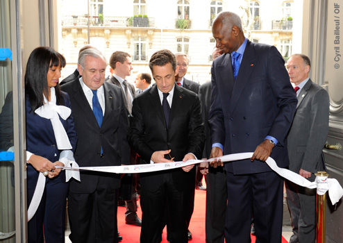 Inauguration du nouveau siège de l'OIF