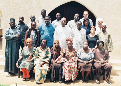 Retraite 2011 du personnel de la CONFEJES