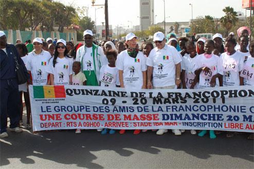 Quinzaine de la francophonie de 2011 au Sénégal