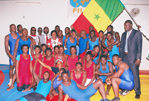 Stage du Club CONFEJES Lutte Afrique de l'Ouest et 30èmes Championnats d'Afrique de Lutte olympique