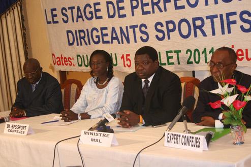 Stage de perfectionnement de dirigeants sportifs féminins en administration du sport