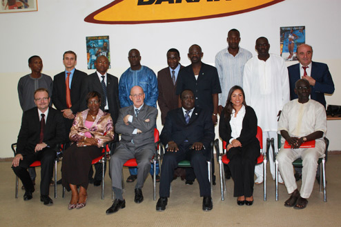 Réunion du Conseil d'administration 2011 du Centre International d'Athlétisme de Dakar (CIAD)