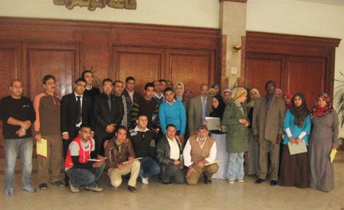 Formation en entrepreneuriat d'encadreurs et de jeunes leaders en entrepreneuriat au Caire (Egypte)