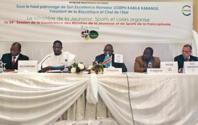 35ème session ministérielle de la CONFEJES