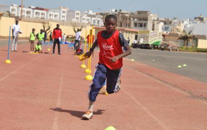 Session de formation sur le Kid's Athletics pour la relance de l'EPS à l'école