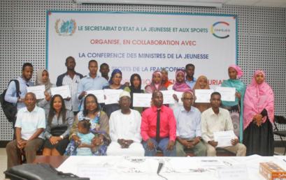 Les cadres du Secrétariat d'Etat à la Jeunesse et aux Sports de Djibouti à l'école de l'Entrepreneuriat