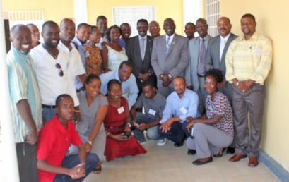 Séminaire de formation de formateurs en entrepreneuriat à Haïti