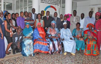Cérémonie d'au revoir en l'honneur de Mme Fatou Ndiaye