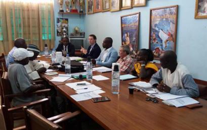 Conseil d'administration du Centre International de Lutte de Thiès