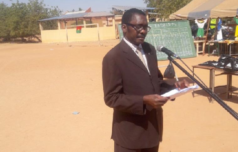 """Cérémonie de clôture de l'action """"Jeunesse, Sport, Paix et Citoyenneté"""" à Ouagadougou"""
