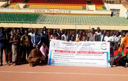 """Cérémonie d'ouverture de l'action """"Jeunesse, sport, paix et citoyenneté"""" au Burkina Faso"""