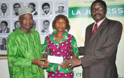 Cérémonies de remises de chèques dégressifs au Bénin