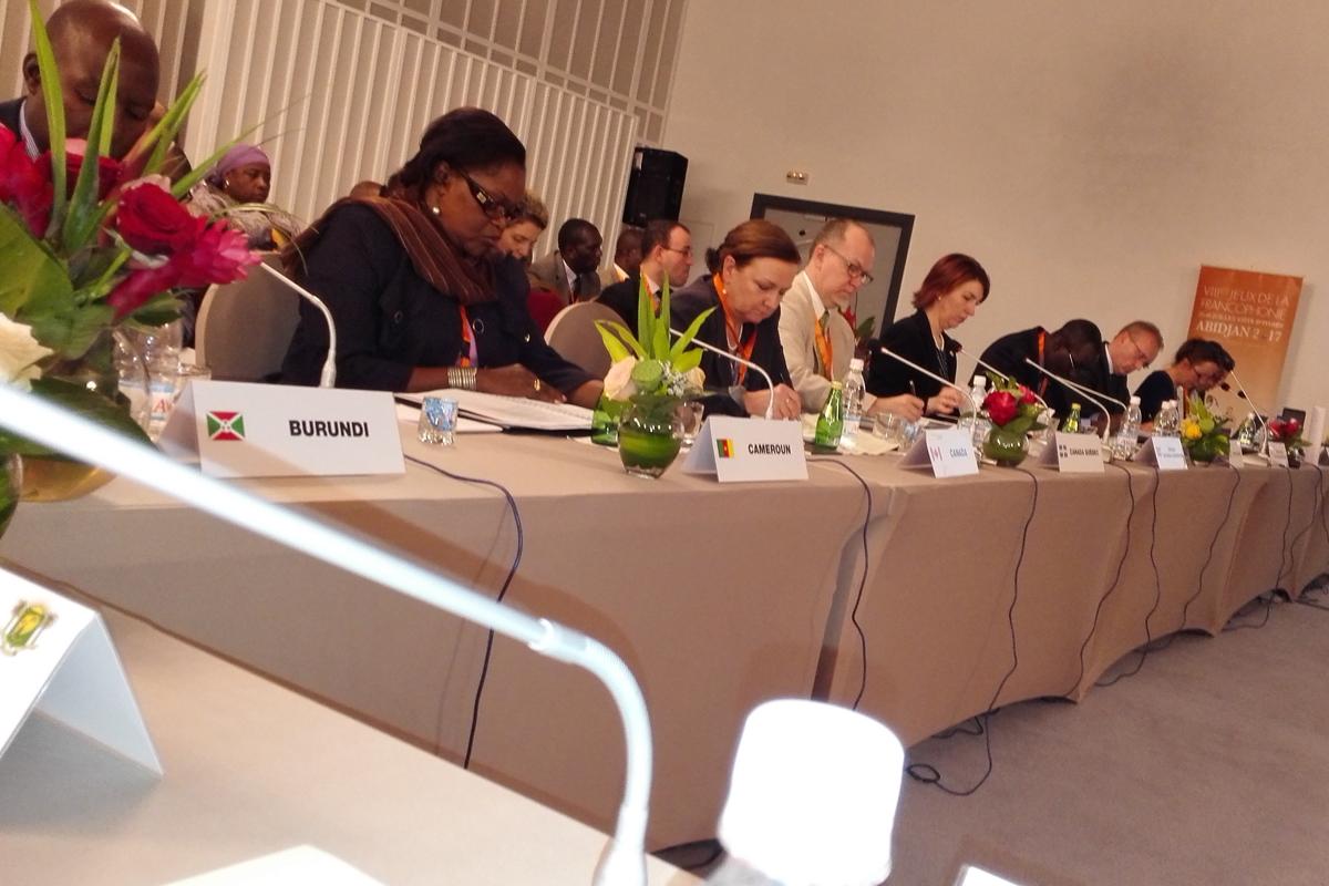 12ème Réunion du Conseil d'Orientation du Comité International des Jeux de la Francophonie