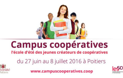 Appel à candidature pour l'Ecole Internationale d'Eté dédiée à l'entrepreneuriat coopératif