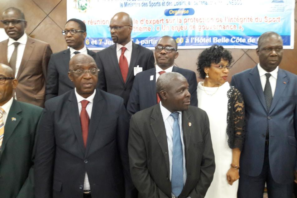 La CONFEJES présent à la Réunion sur la protection de l'intégrité du Sport à Abidjan