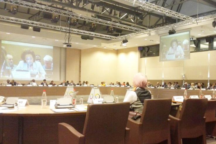 La CONFEJES à la 98e session du Conseil Permanent de la Francophonie