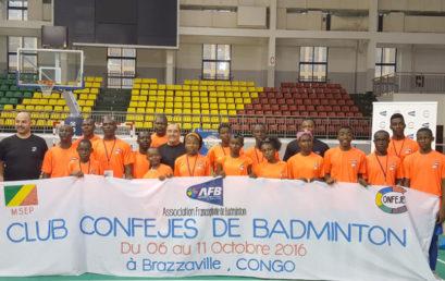 La République du Congo accueille le Club CONFEJES en Badminton en partenariat avec l'AFB