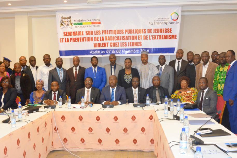 Séminaire francophone sur les politiques publiques de jeunesse et le radicalisme violent