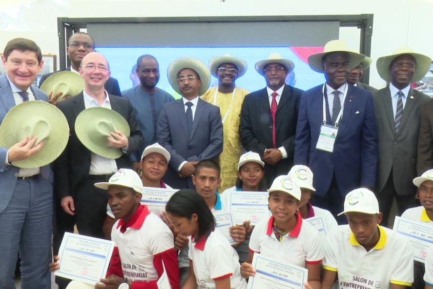 Salon des Jeunes entrepreneurs de l'Océan Indien et de Haïti
