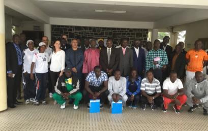 Séminaire d'introduction des Sciences Appliquées au Sport, en collaboration avec l'INSEPS de DAKAR, le CNOSS et le PAISAC.