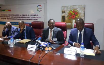 Réunion préparatoire à la conférence internationale sur la relance de l'EPS dans les différents ordres d'enseignement des Etats et gouvernements membres de la Francophonie, Cotonou les 30 et 31 janvier 2017