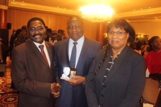La CONFEJES à la cérémonie de remise des Prix MANDELA