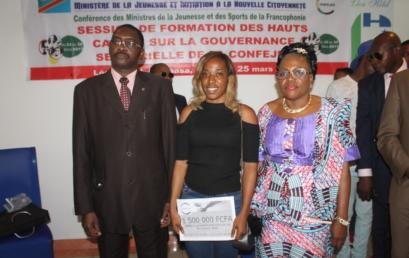 Appuis Promotion Élites Jeunes (APEJ) : remise des subventions aux jeunes sportifs de la RDC