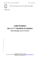 Compterendu-general-11emeReunionBureauConfejesDakar