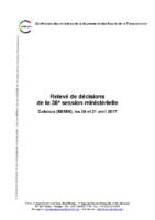 Relevé-de-décisions-36ème-Conférence-Ministérielle